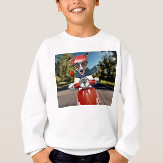 Scooter dog ,jack russell sweatshirt