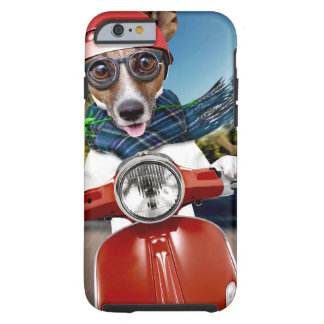 Scooter dog ,jack russell tough iPhone 6 case