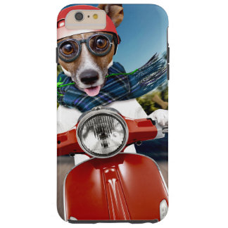 Scooter dog ,jack russell tough iPhone 6 plus case