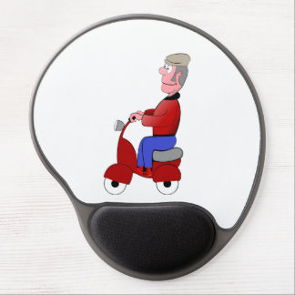 Scooter Gel Mouse Pad