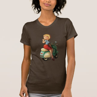Scooter Girl T Shirt