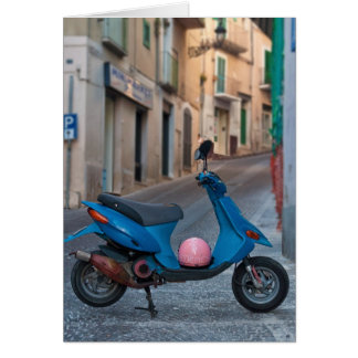 Scooter in Italy Card