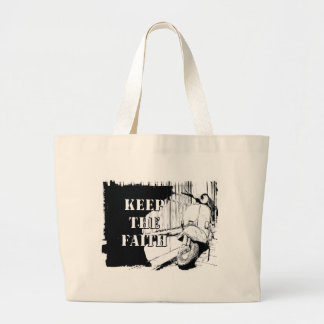 Scooter Keep the Faith Large Tote Bag