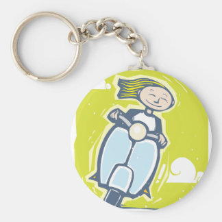 Scooter Key Ring