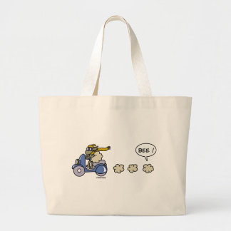 Scooter Large Tote Bag