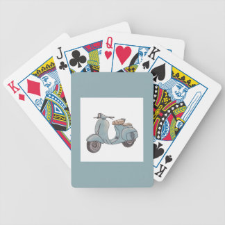 Scooter Playing Cards