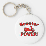 Scooter POWER! Key Chain