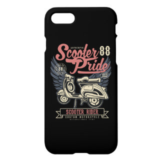 Scooter Pride Glossy Phone Case