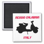 Scooter, Reggio Calabria, Italy Magnets