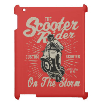 Scooter Rider IPAD/IPAD MINI, IPAD AIR CASE iPad Case