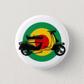 Scooter Target Rasta 3 Cm Round Badge