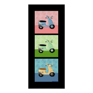 Scooter Trio Poster