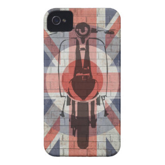 Scooter Union Jack Target art iPhone 4 Cover