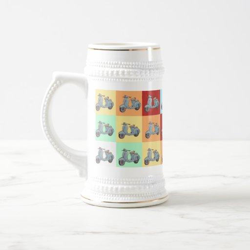 Scooters Stein Coffee Mug