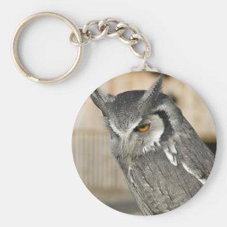 Scops Owl Keychain