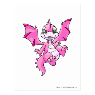Scorchio Pink Postcard