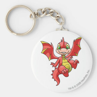 Scorchio Red Key Ring