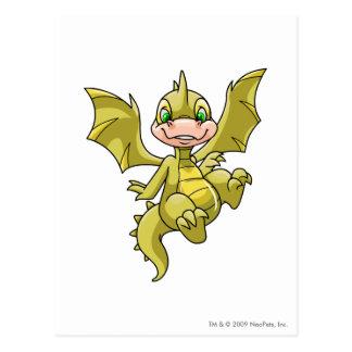 Scorchio Yellow Postcard