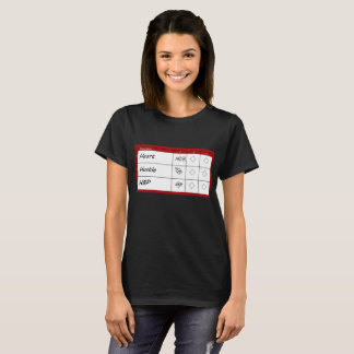 Score Card - Minimal T-Shirt