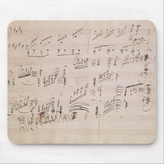 Score sheet of 'Moonlight Sonata' Mouse Pad