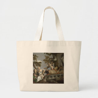 Scorn by Paolo Veronese Jumbo Tote Bag