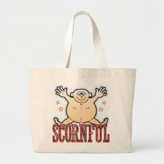 Scornful Fat Man Jumbo Tote Bag