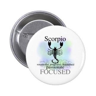 Scorpio About You 6 Cm Round Badge