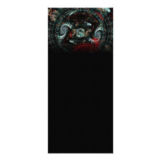 Scorpio Abstract Fractal Artwork Full Color Rack Card