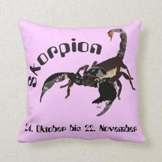 Scorpio - asterisk cushion