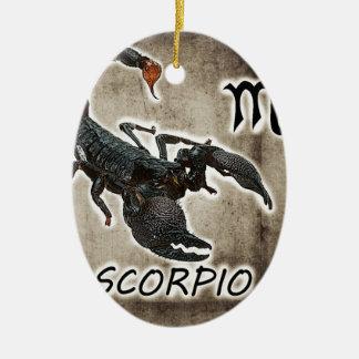 scorpio astrology 2017 ceramic oval decoration