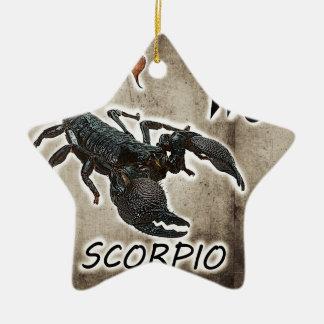 scorpio astrology 2017 ceramic star decoration