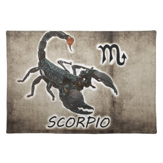 scorpio astrology 2017 placemat