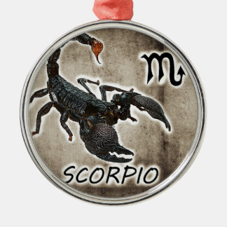 scorpio astrology 2017 Silver-Colored round decoration