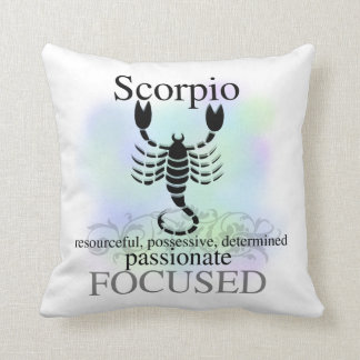 Scorpio Astrology Sign American MOJO Pillow