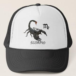 Scorpio astrology trucker hat