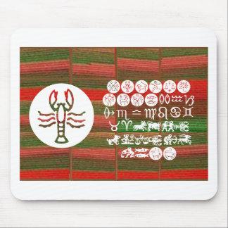 SCORPIO Astrology Zodiac Symbol Mousepad