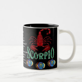 Scorpio Birth Sign Zodiac Mug