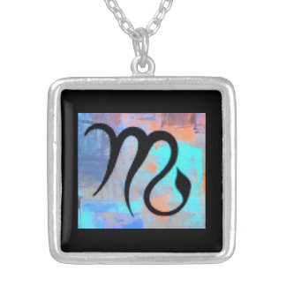 """SCORPIO"" BIRTHDAY NECKLACE"" SILVER PLATED NECKLACE"
