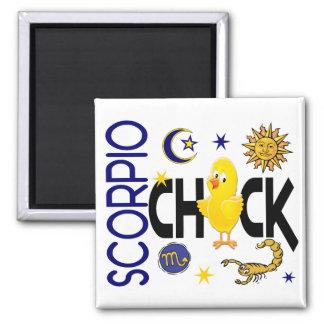 Scorpio Chick 1 Magnet