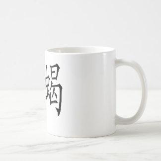 Scorpio Chinese Symbol Basic White Mug