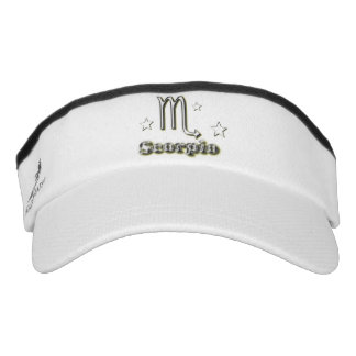 Scorpio chrome symbol visor