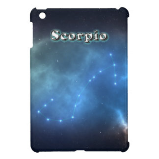 Scorpio constellation iPad mini case