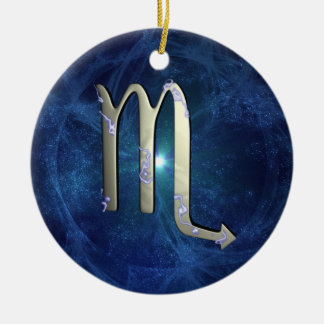 Scorpio Christmas Tree Ornament