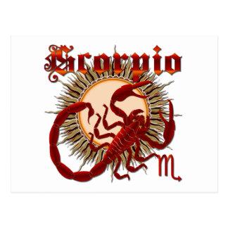 Scorpio-Design-1 Postcard