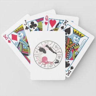 Scorpio Girl Bicycle Playing Cards