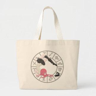 Scorpio Girl Large Tote Bag