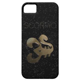 Scorpio golden sign iPhone 5 covers