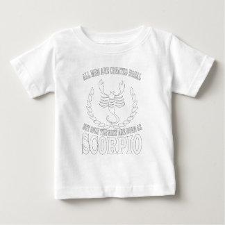 Scorpio Horoscope Great Gift For Any Zodiac Fan Baby T-Shirt