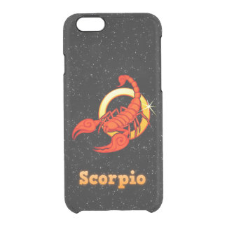 Scorpio illustration clear iPhone 6/6S case