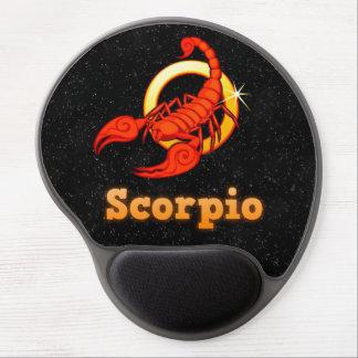 Scorpio illustration gel mouse pad